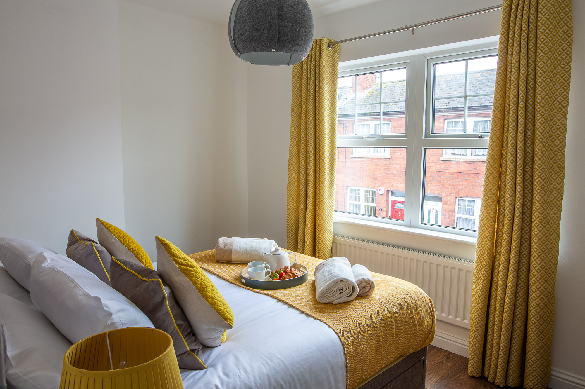 bedroom serviced apartment