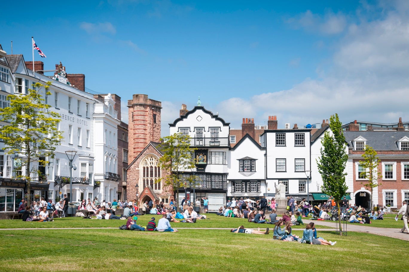 serviced apartments in exeter